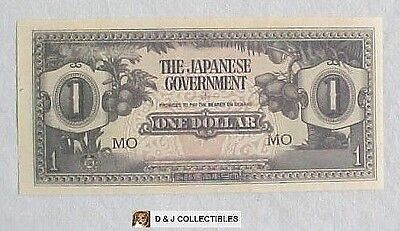 Ww Ii Japanese Government 1942 1  Dollar Occupation  Note Unc Condition