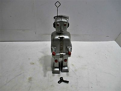 Robot St-1 Wind-Up With Sparking Chest Good Cond Works Good Made In Germany