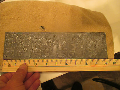 """VINTAGE Thornton Fisher  """" Raising the Family """" Printing Plate 1920's Comic"""