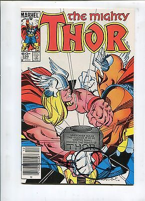 Thor #338 - A Fool And His Hammer! Signed By Walter Simonson - (9.2) 1983