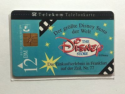 1984 The Disney Store ( Germany) Phone Card