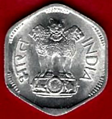 Uncirculated 1971  Independent Republic of  India  3 Paise, Bright and Gorgeous