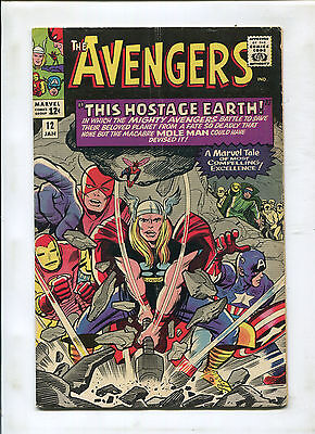 Avengers #12 (5.0) This Hostage Earth!