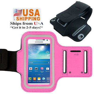 Gym Sports Running Armband Jogging Pouch Case Cover for Samsung Galaxy S5