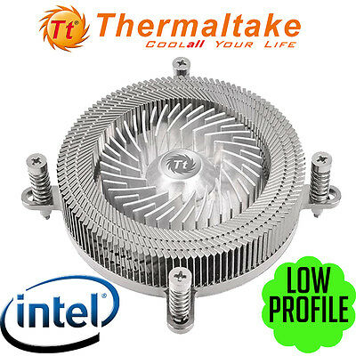 Thermaltake Engine 27 1U CPU Air Cooler Intel LGA 1151 1155 1156 Low Profile NEW