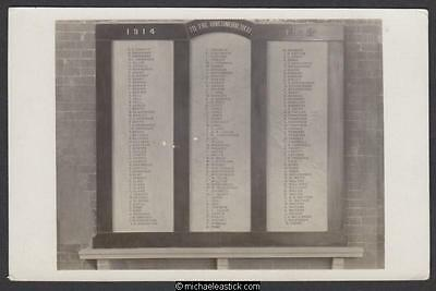 Horden: WWI Roll of Honour, St Mary's Church