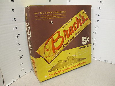 Brach's SWING candy bar wrapper 1940s vintage candy box store display