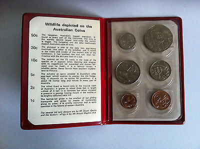 1974 Ram Uncirculated 6 Coin Mint Set Excellent