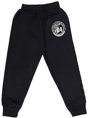 Kids/ Boys / Track / Sports /Stadium pant - 100% Cotton football print-Dark Navy