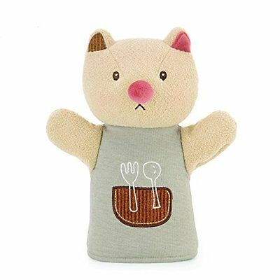 Me Too Cartoon Keke Cat Hand Puppets Soft Finger Puppets Baby Play Plush Toys