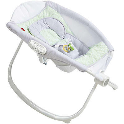NEW Fisher-Price Deluxe Newborn Auto Rock 'N Play Sleeper With SmartConnect.