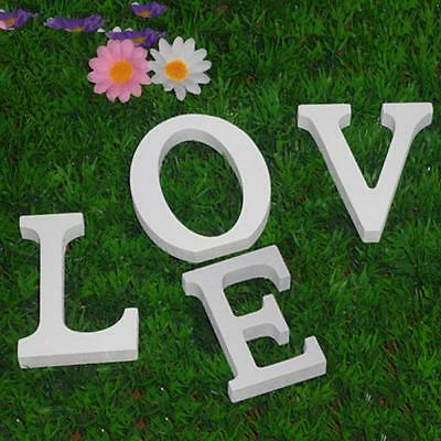 Fashion Free Standing Party Home Decoration Word Letter Alphabet Wood
