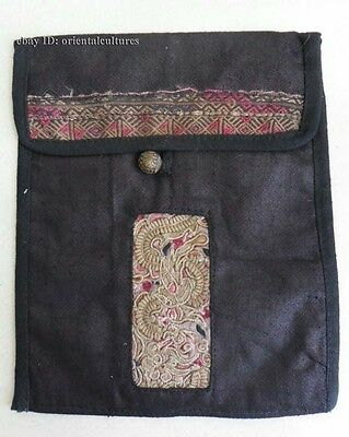 Exotic chinese tribe Minority people's old hand embroidery Bag