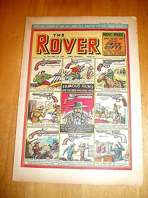 Rover Comic 1/2/1958 Famous Guns Cover Colt  Smith & Wesson + Scharnorst Sinking