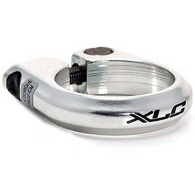 XLC Alloy Bolt on Seat Post Seatpost Clamp MTB Bicycle Bike 31.8mm Silver Bolted