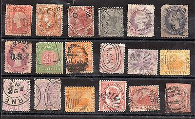 Australian States Collection unchecked WS3872