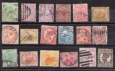 Australian States Collection unchecked WS3875