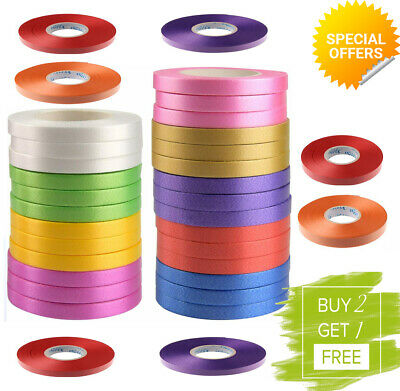 50 Metres Balloon String tie Curling Ribbons Colours Baloon Ribon BALLON ROLL
