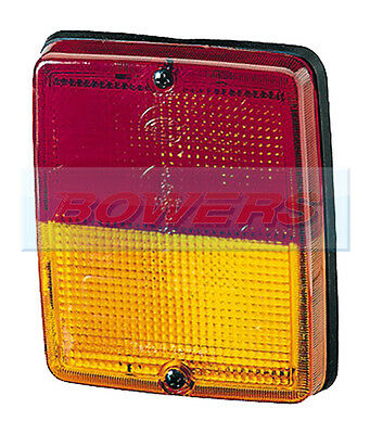 Hella Rear Red/amber Tail/indicator Light/lamp Bus/coach Volvo Mercedes Neoplan