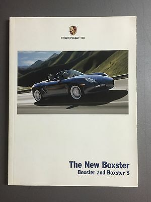 2005 Porsche Boxster, Boxster S Showroom Sales Brochures RARE Awesome L@@K