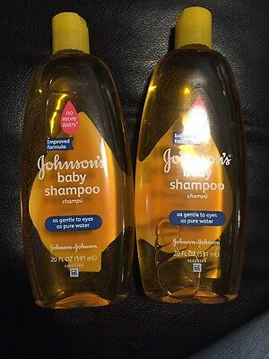 JOHNSON'S Baby Shampoo 20 oz (Pack of 2)