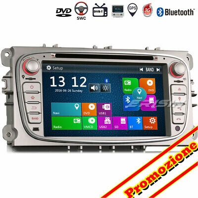 Autoradio GPS DAB+ SD DTV Bluetooth USB Navi CD FORD FOCUS C/S-MAX MONDEO GALAXY