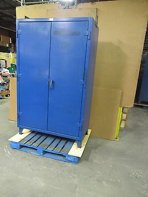 "Strong Hold 48""x24""x72"" Stronghold Heavy Duty Steel Storage Cabinet 4 Shelf (#12"