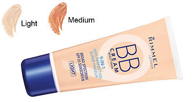 Rimmel 9-in-1 Skin Perfecting BB Cream 30 ML *Choice Of Shade*