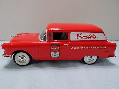 Liberty Coin Bank Campbell Soup '55 Chevy Delivery 1/25Th (M5-2)