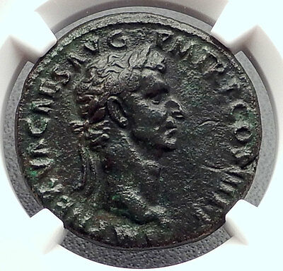 NERVA 97AD Rome Authentic Ancient NGC Certified Ch VF Roman Coin HANDS i60247