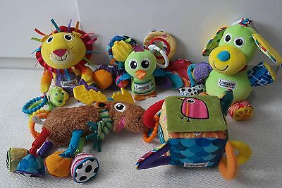 Lamaze  sensory soft toy bundle