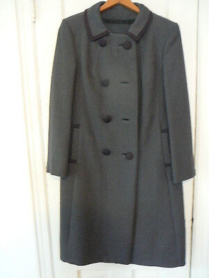 Vintage Lord and Taylor Womens Ladies Coat Hat Set 1950's 1960's Rare MINT