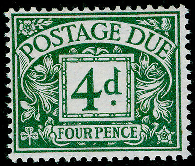 SgD15, 4d dull grey-green, UNMOUNTED MINT. Cat £70.