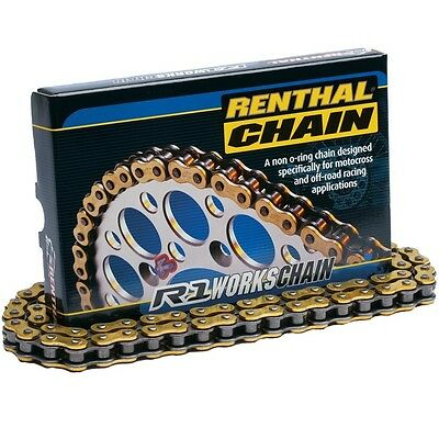RENTHAL R1 Works 520 Chain 114 Links Gold
