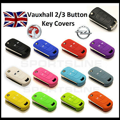 New Key Cover For Vauxhall Opel 2 3 Button Flip Remote Fob Case Protector Cap 2*