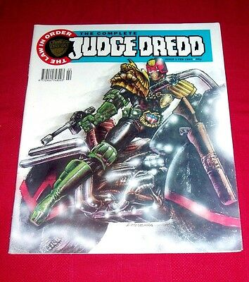 The Complete Judge Dredd  #1 1992  First Issue High Grade Comic