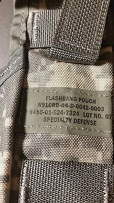 2- MILITARY SURPLUS FLASHBANG MOLLE II ** grenade pouch**NEW-