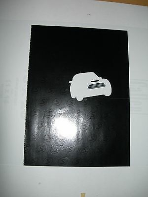 2002 or 2003 Mini-Cooper S foldout ad, suitable as poster