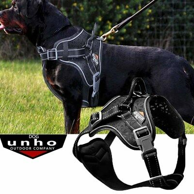 Tactical Dog Excursion K9 Training Patrol Vest Harness, Extra Large- Medium Size
