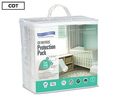 Protect-A-Bed Cot Mattress Protection Pack