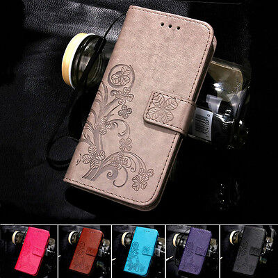 Pattern Flip stand wallet Card Holder TPU Case PU Leather Cover For Huawei  S