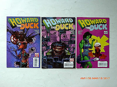 Marvel Comics Howard The Duck #1-3 Of 4 Comic Book Set! As Pictured!