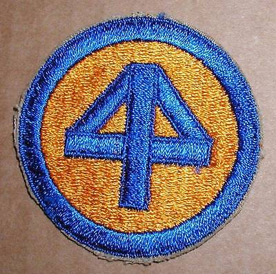 WW2 ERA US ARMY FORTY-FOURTH (44th) DIVISION PATCH