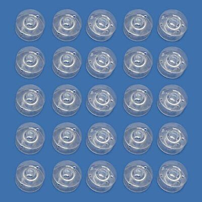 10x Clear Plastic Sewing Machine Bobbins Spools Fits Singer Brother Janome NEW