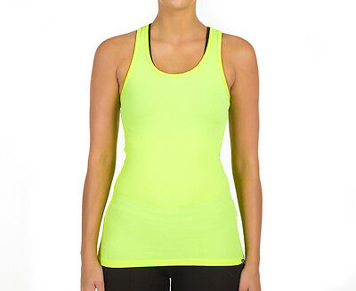Under Armour Women's Tech Victory Tank - Fluro Green