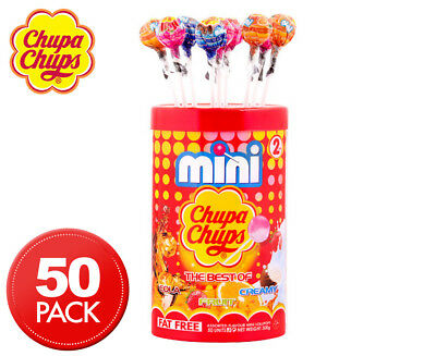 Mini Chupa Chups The Best Of 300g 50pk
