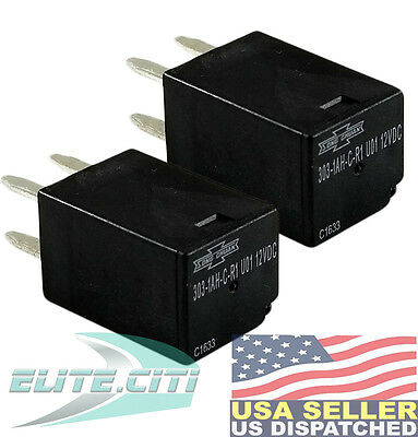 2x Song Chuan 303-1AH-C-R1-U01-12VDC General Purpose Relays SPNO 20A 12VDC ,