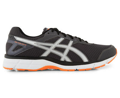 ASICS Men's GEL-Galaxy 9 Shoe - Dark Grey/Silver/Shocking Orange