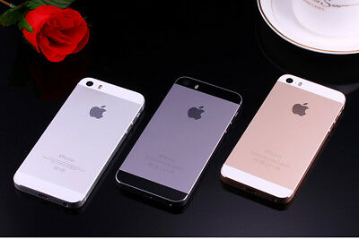 AS NEW Apple iPhone 5S 16GB 32GB 64GB 4G LTE 3 COLORS 100% Factory Unlocked AU