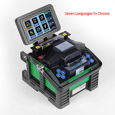 Optical Fiber Fusion Splicer Cleaver Automatic 7s Welding SM MM DS NZDS BIF/UBIF